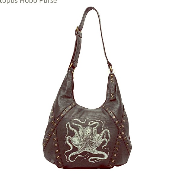 0924ebe706c1 Sourpuss Octopus hobo faux leather bag. M 5b0b61869a94552da20d28ce. Other  Bags ...